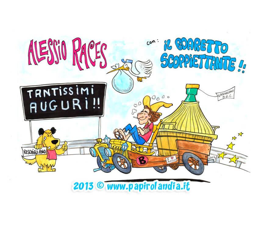 Exceptionnel Biglietti di auguri e idee regalo | Papirolandia.it Caricature TR97
